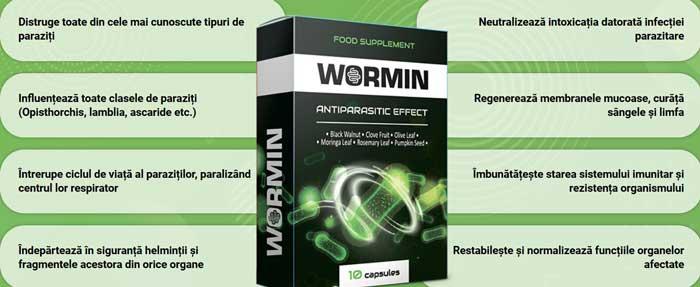 tablete pentru tratarea viermilor