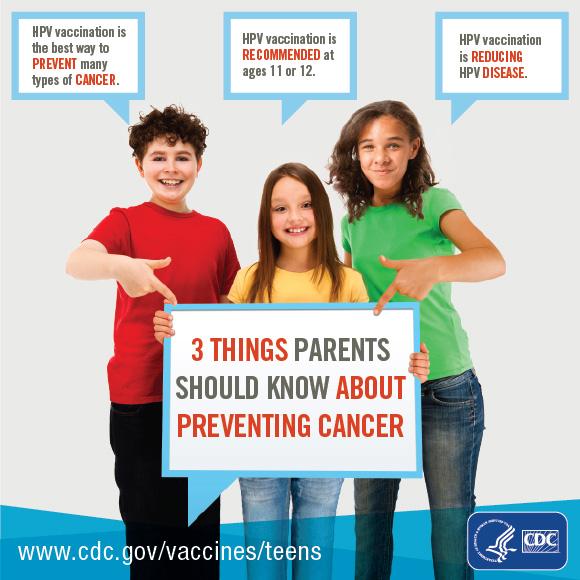 hpv cancer prevention poster