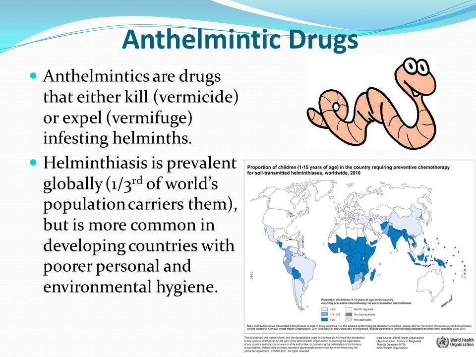 accloustiomyfhink Anthelmintic simple definition