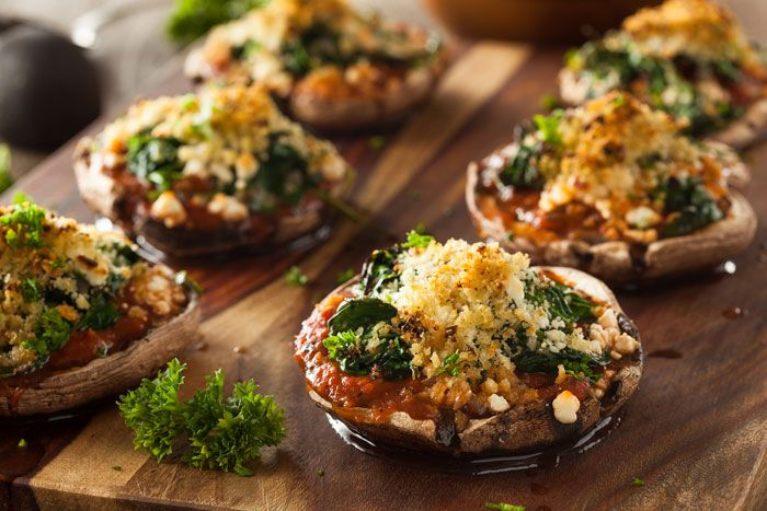 8 Retete cu ciuperci Portobello - Lumina si delicioasa - thecroppers.ro