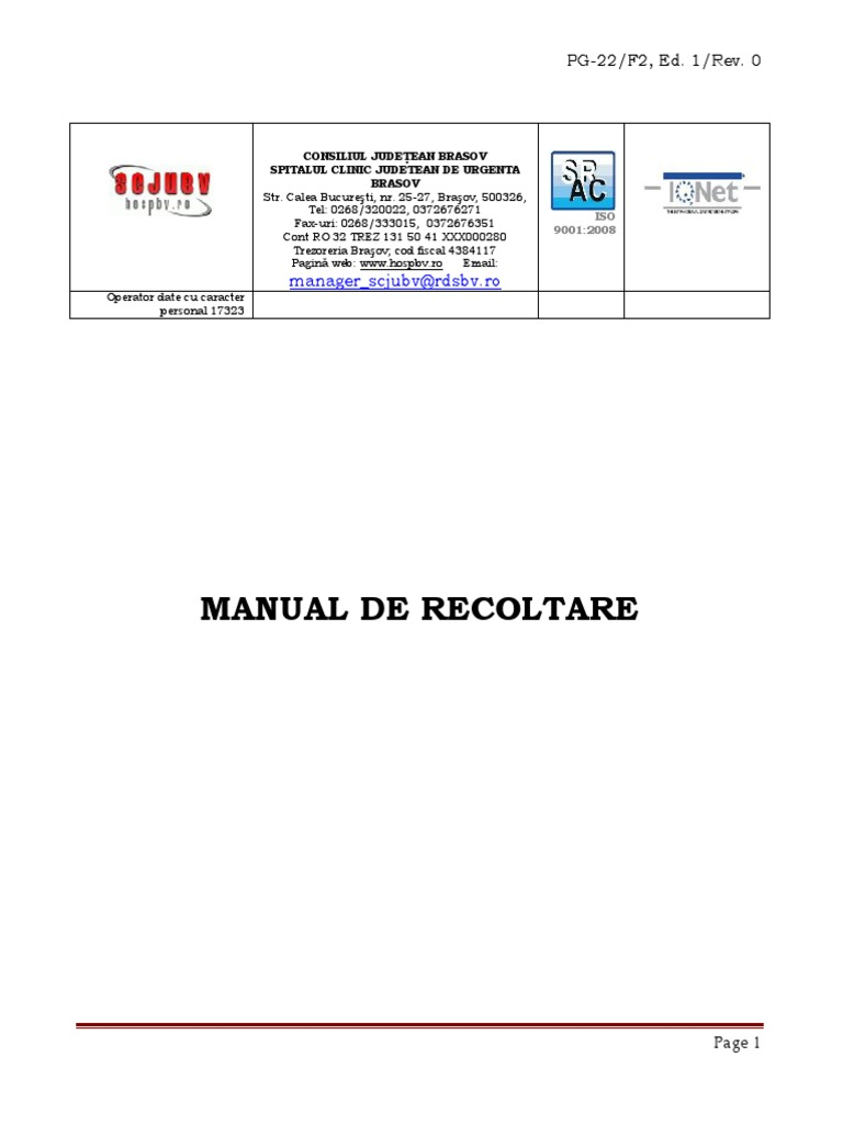 Analize Materii Fecale - Ecomed
