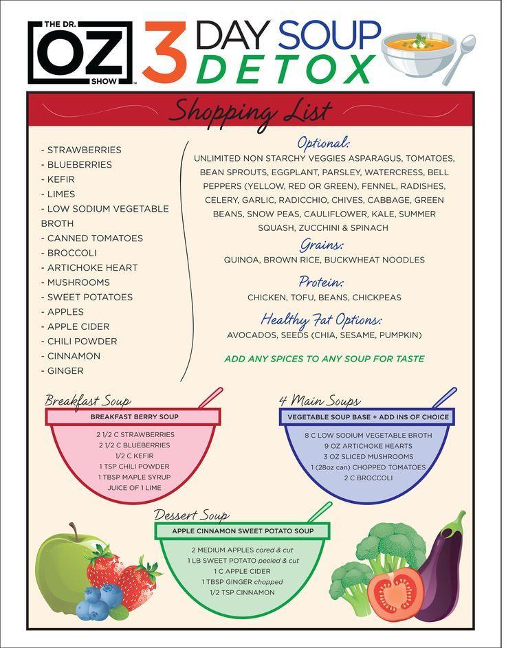dr oz supliment de detoxifiere hepatică clisma pentru oxiuri