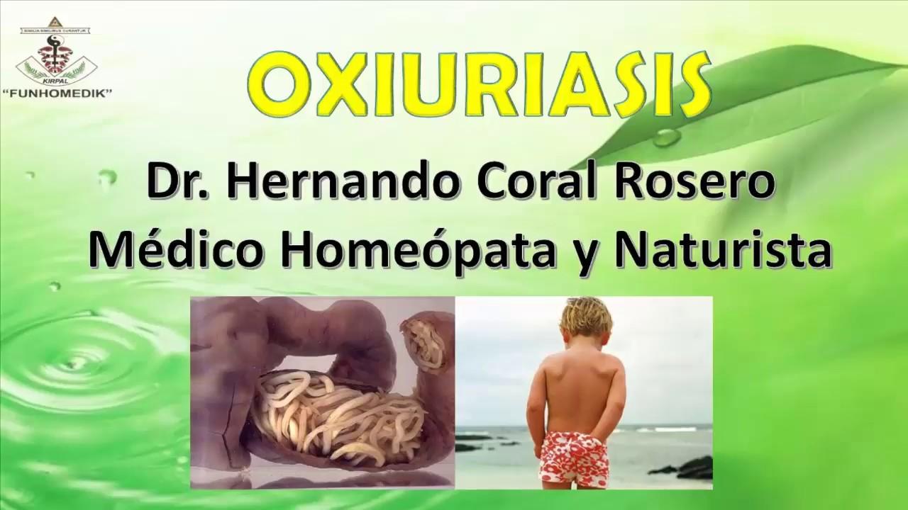 oxiuros parasitosis