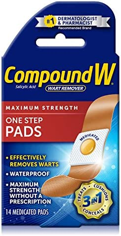 wart treatment band aid