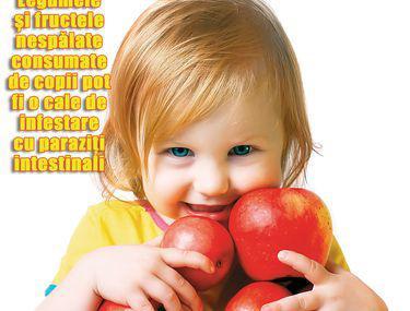 Prevenirea și tratarea viermilor la copiii mici