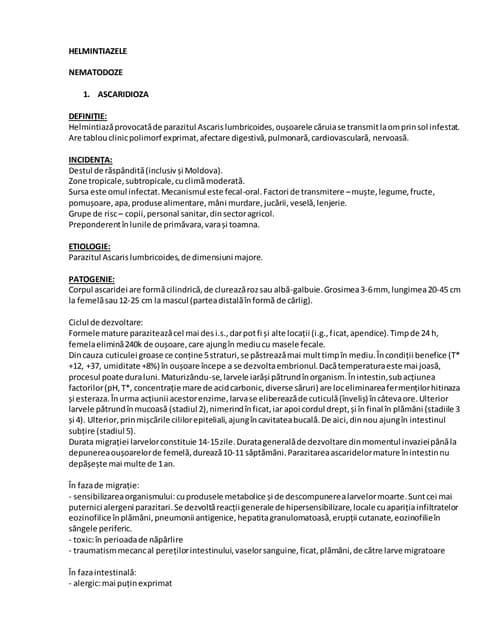 helmintiazele simptome cancer mamar stadiul 4 tratament
