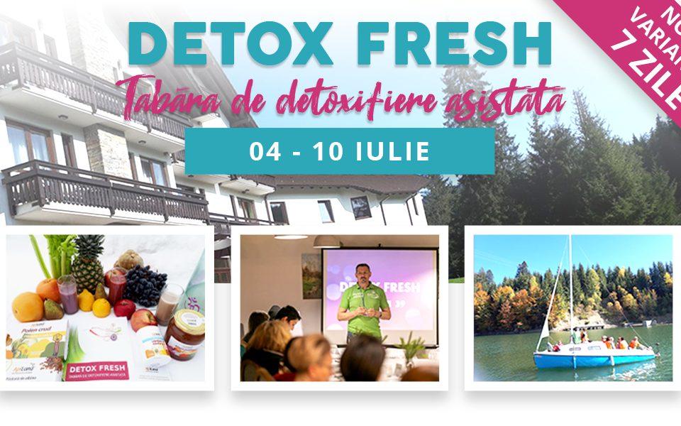 tabere de detoxifiere 2020