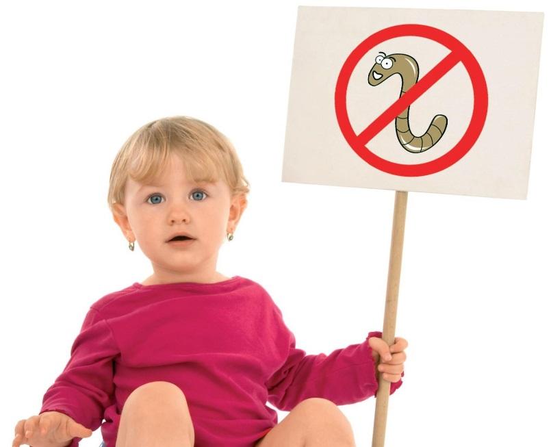 tratamentul simptomatic al helminților la copii