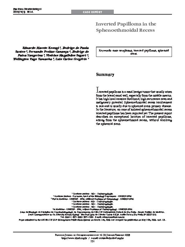 cod papilom