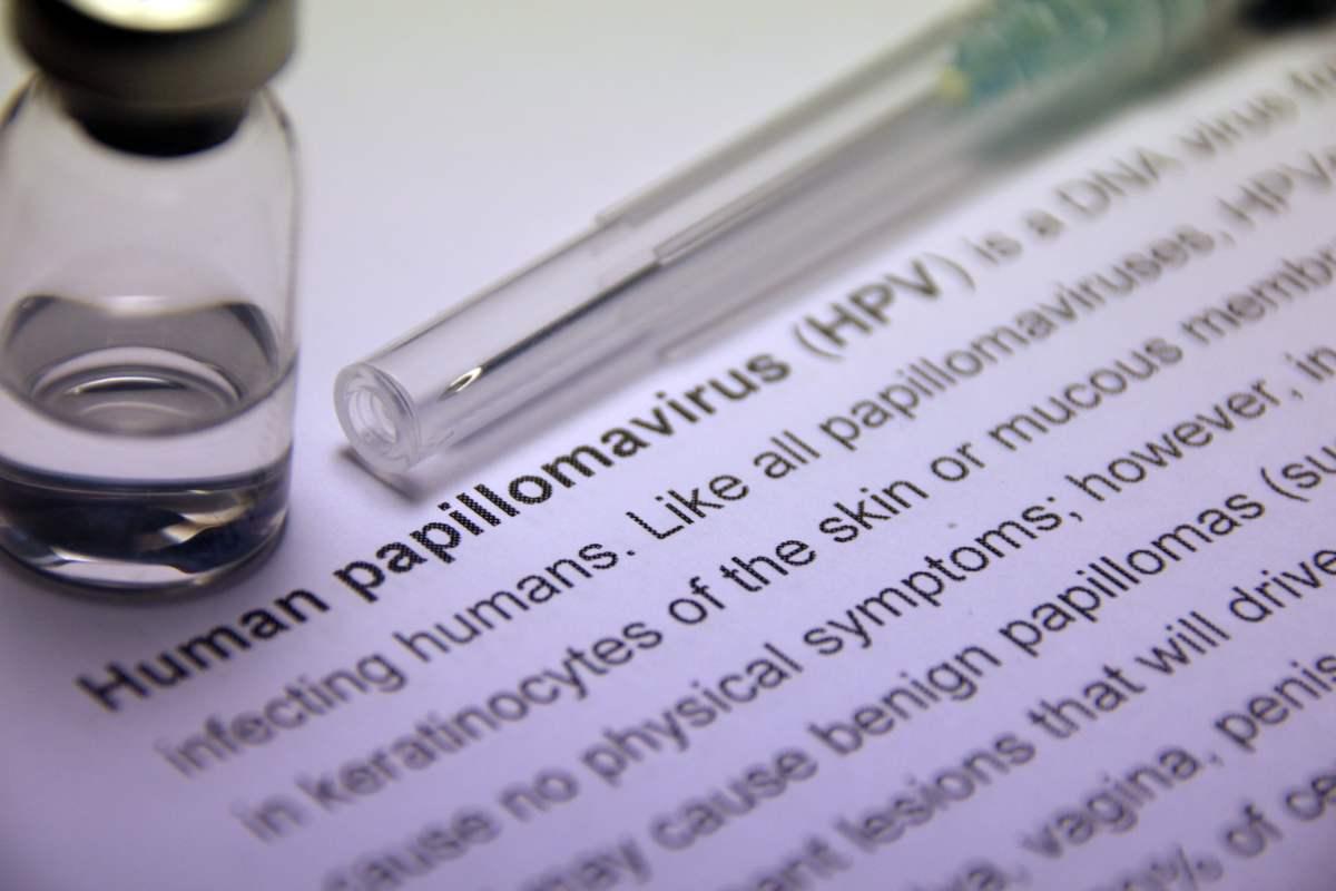 il papilloma virus si attacca all uomo